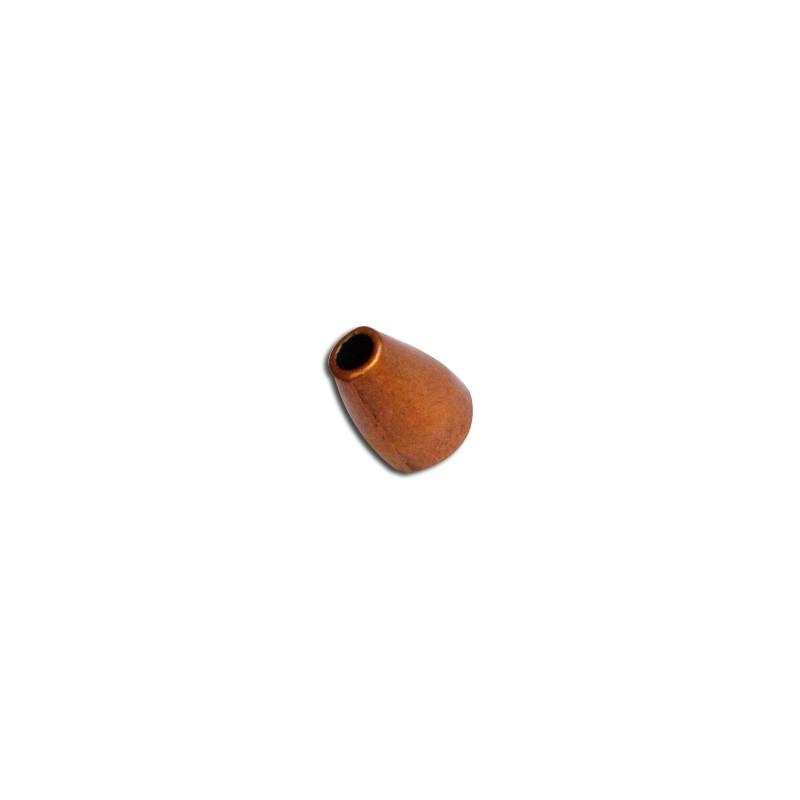 lot de 10 coupelles coniques lisses en metal couleur cuivre 11mm. Black Bedroom Furniture Sets. Home Design Ideas