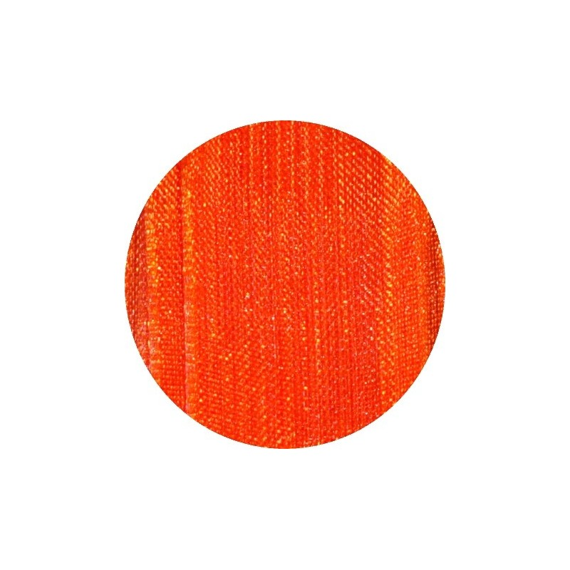Ruban mousseline 15mm orange vendu au m tre - Mousse polyester au metre ...