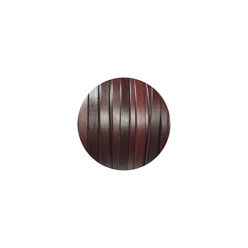 cuir plat de 10mm couleur bordeaux. Black Bedroom Furniture Sets. Home Design Ideas