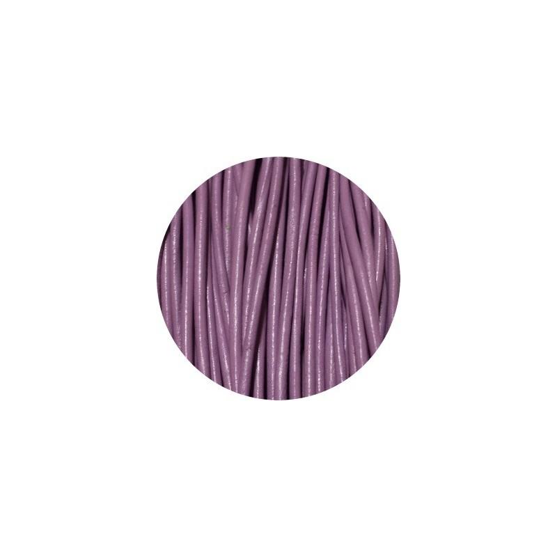 lacet rond de cuir violet clair de. Black Bedroom Furniture Sets. Home Design Ideas