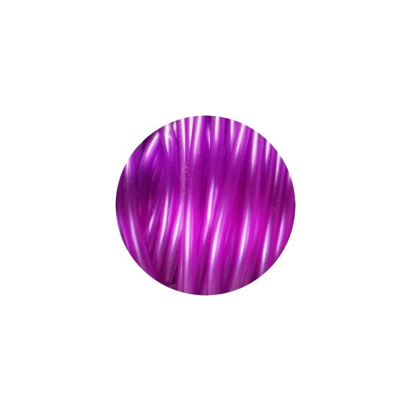 cordon pvc creux de couleur rose fuchsia 5mm perlesmetal. Black Bedroom Furniture Sets. Home Design Ideas