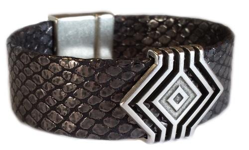 Bracelet en bride rempliée de 20mm